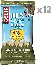 CLIF BAR - Energy Bars - Sierra Trail Mix - (2.4 Ounce Protein Bars, 12 Count)