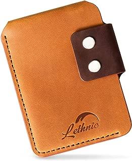 Minimalist Wallet, Tactical Modern Slim Genuine Leather (Special Brown)