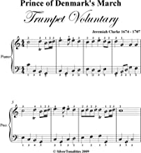 Prince of Denmark's March Trumpet Voluntary Jeremiah Clarke Easy Piano Sheet Music