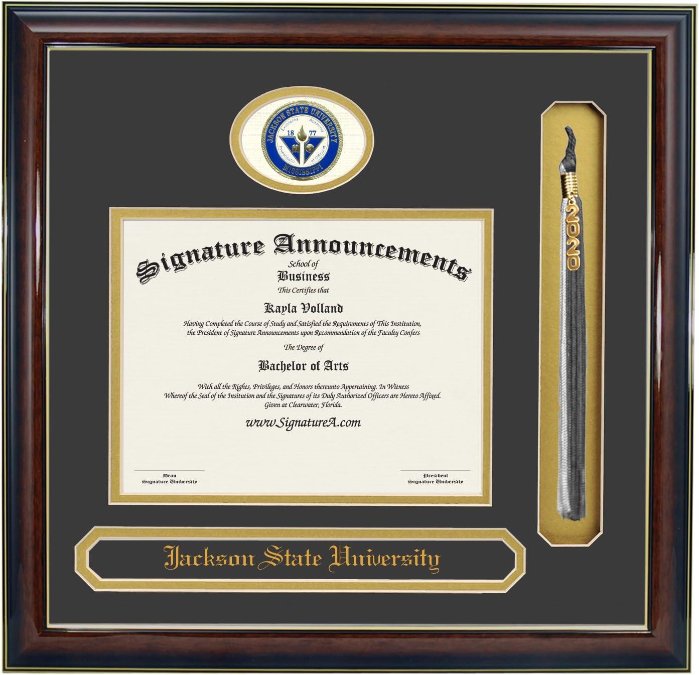 Signature Announcements Jackson-State-University 5 ☆ popular Max 53% OFF Undergraduate