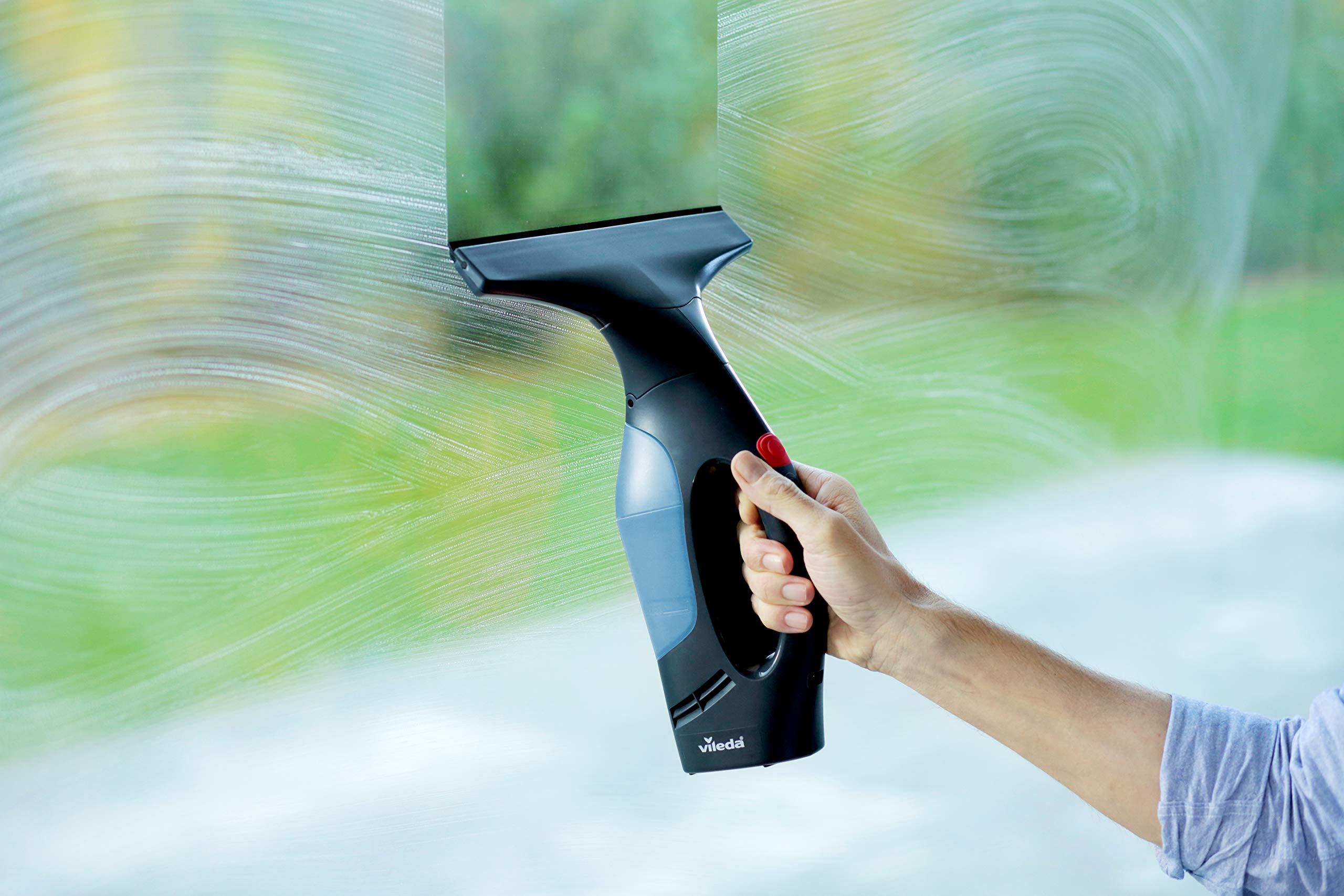 Vileda Windomatic Power Set limpia ventanas, Azul, 200 ml: Amazon.es: Hogar