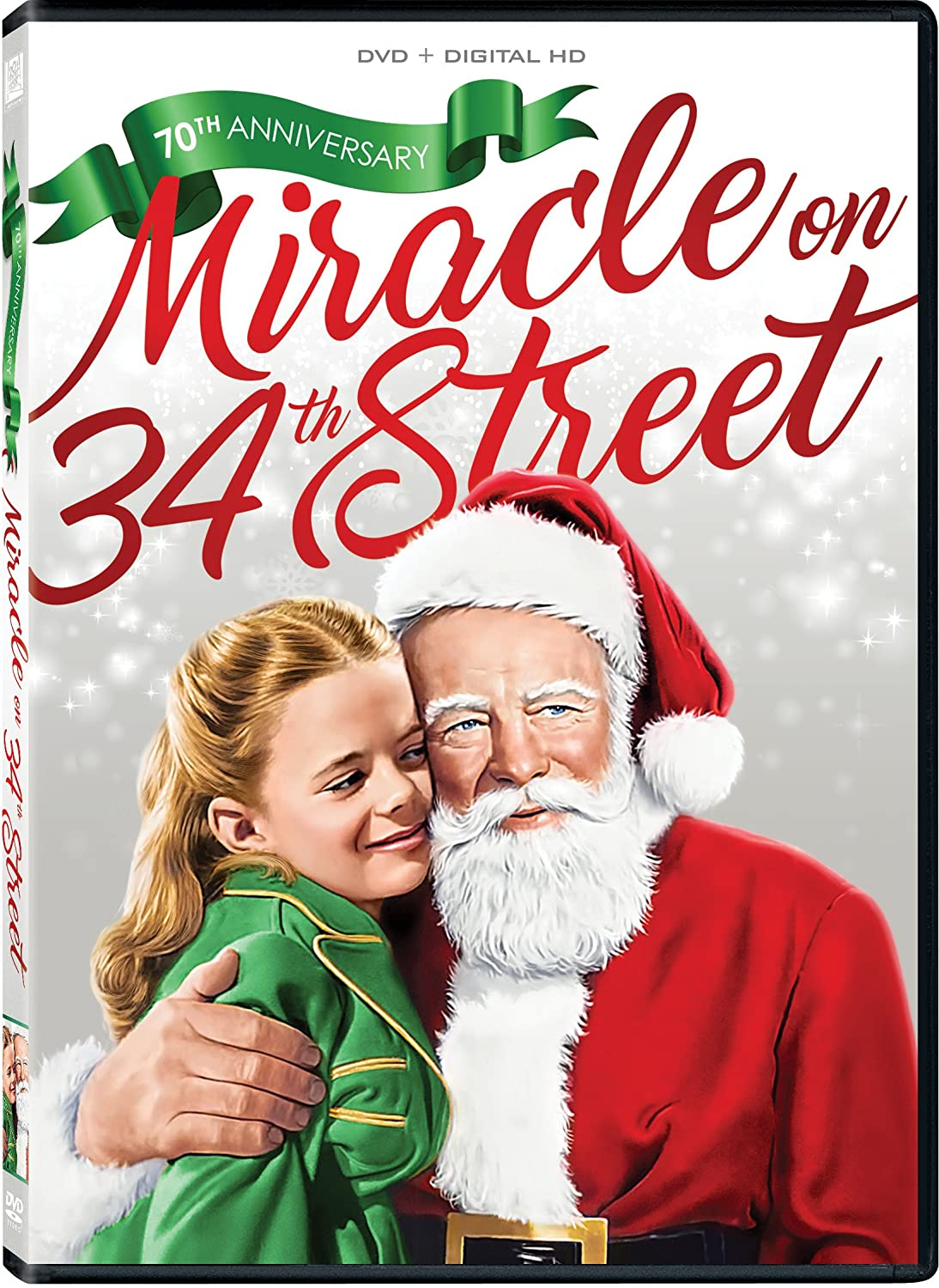 Miracle on 34th Street DVD.