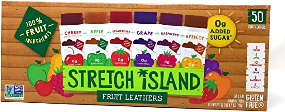 Stretch Island Fruit Leathers, 50 Count