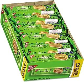 Nabisco SnackWell's Cookies, Vanilla Creme, 1.7 oz Pack, 48 Carton