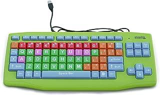 Plugable USB Kids Keyboard (Extra Large Keys - Color Coded)