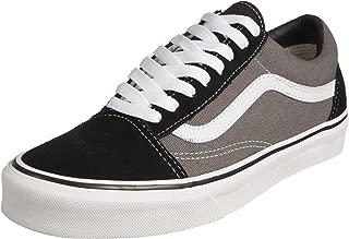 (3 UK, Grey (Black/Pewter)) - Vans Unisex Adults' Old Skool Low-Top Sneakers