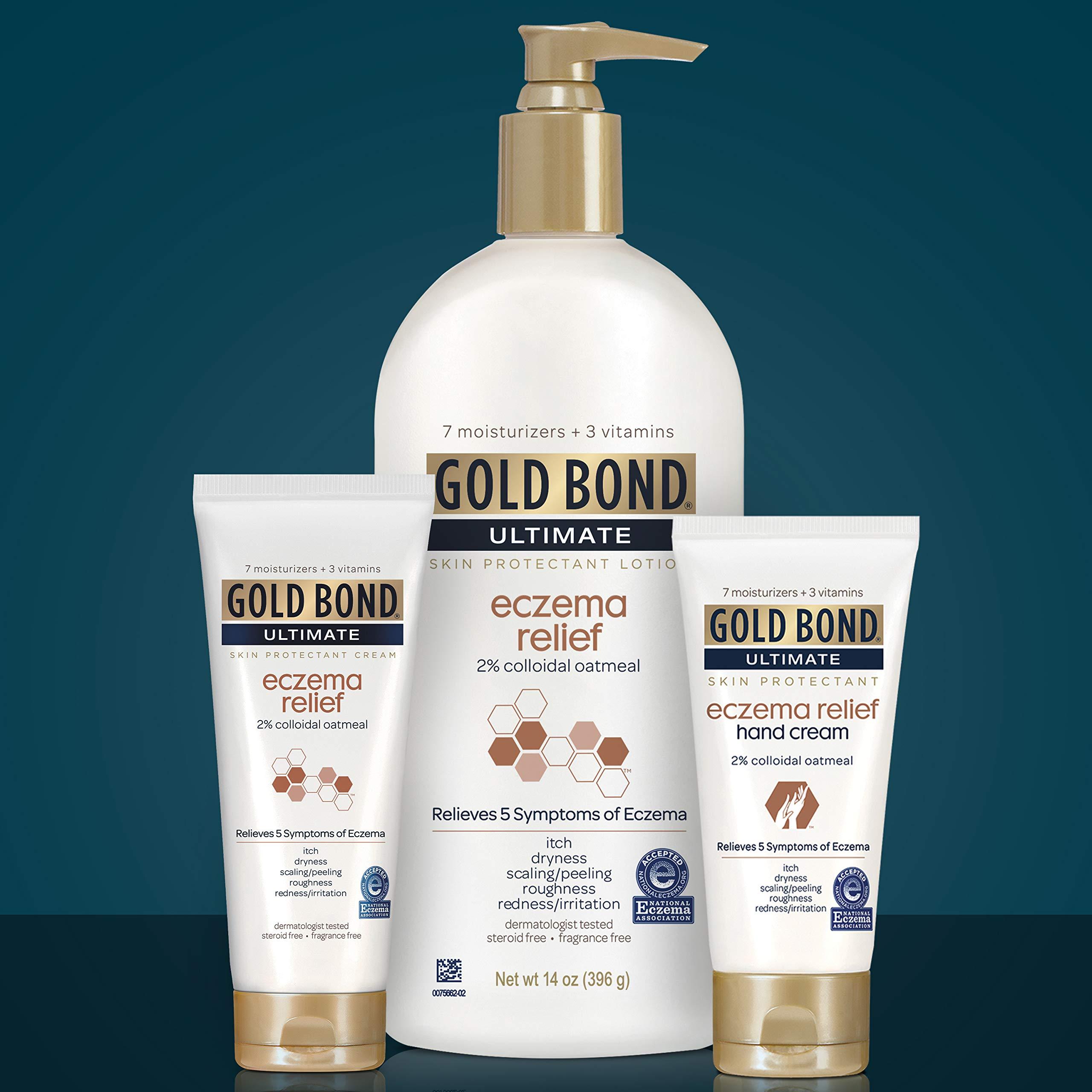 Gold Bond Eczema Relief, Fragrance Free, 14 Ounce