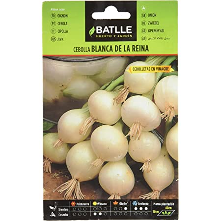 Semillas Hortícolas - Cebolla Blanca de la Reina - Batlle