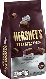 HERSHEY'S NUGGETS Milk Chocolate, 10.8 oz (pack of 2)