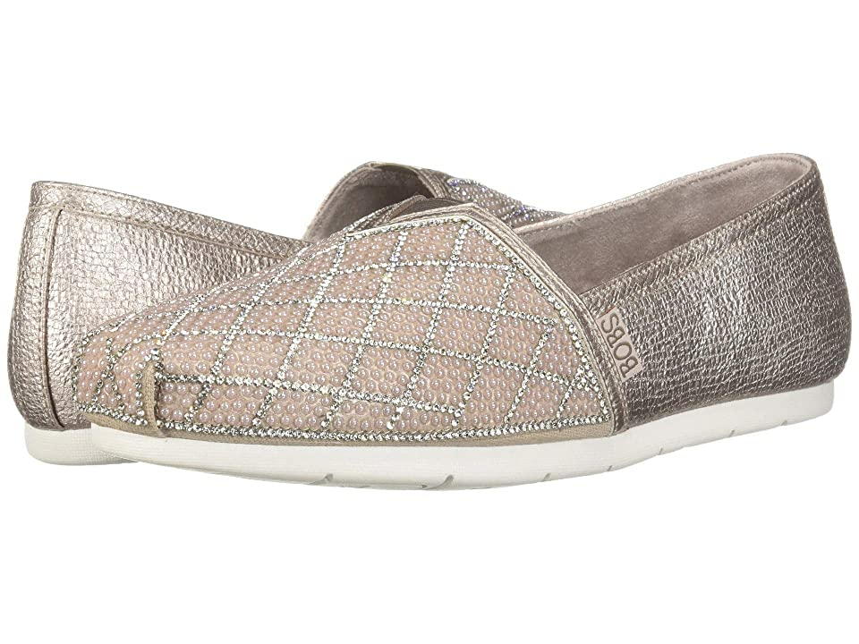 BOBS from SKECHERS Luxe Bobs (Rose Gold) Women
