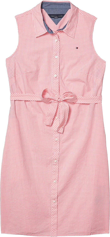 Tommy Hilfiger Fees free Women's Dress Sleeveless Over item handling Shirt