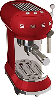 Smeg Espresso-Kaffeemaschine ECF01RDEU, 1350, Kunststoff, 1 Liter, Rot