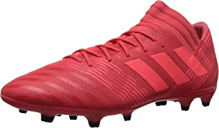 cc647c69f8d9 adidas Men's Nemeziz 17.3 FG Soccer Shoe, Real Coral/Red Zest/Core Black