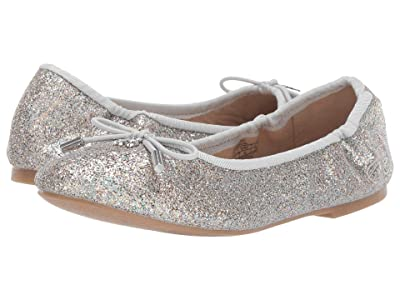 Sam Edelman Kids Felicia Ballet (Little Kid/Big Kid) (Silver Gasoline) Girls Shoes