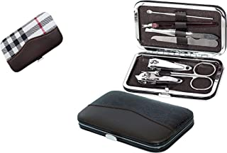 AVEU Beauty of - 7 in 1 Manicure set Professional Stainless Steel Nail Clipper Kit Finger Plier Nails art Pedicure Toe Nai...