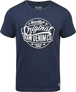 Malex Camiseta Básica De Manga Corta T-Shirt para Hombre con Cuello Redondo