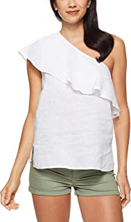 Jag Women's ONE Shoulder TOP, White