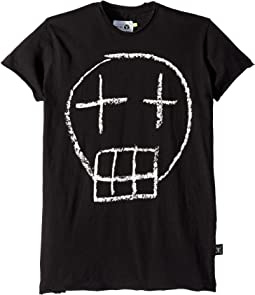 Sketch Skull T-Shirt (Little Kids/Big Kids)