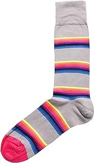 Paul Smith Men's Lion Stripe Socks Black