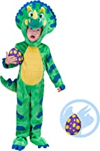 Spooktacular Creations Triceratops Deluxe Kids Dinosaur Costume for Halloween Dinosaur Dress Up Party