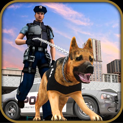 ultimo gioco di simulazione di animali domestici per cani - simulatore di cani della polizia statunitense gioco criminale del centro commerciale