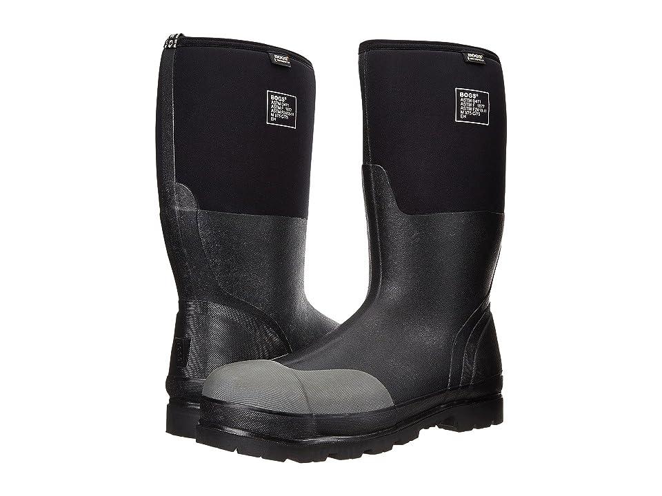 Bogs Rancher Forge Steel Toe (Black) Men