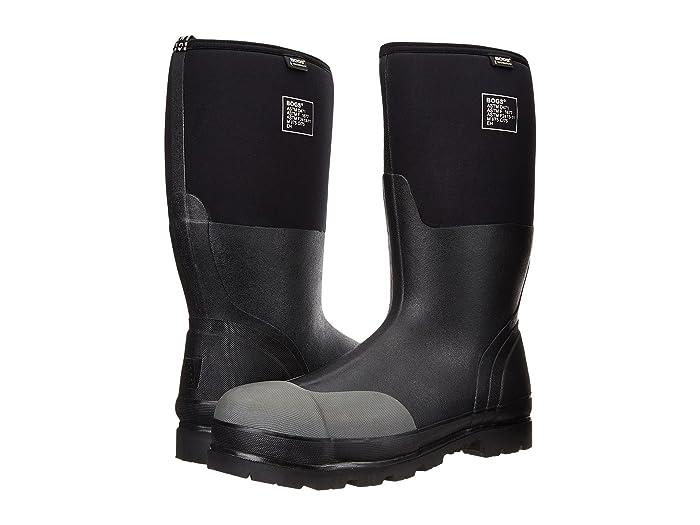 Bogs  Rancher Forge Steel Toe (Black) Mens Waterproof Boots
