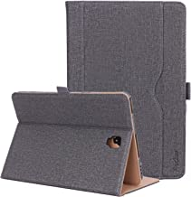 ProCase Galaxy Tab S4 10.5 Case, Folio Stand Protective Cover Case for Galaxy Tab S4 (10.5-Inch SM-T830 T835 T837) with S Pen Holder, Multiple Viewing Angles -Gray