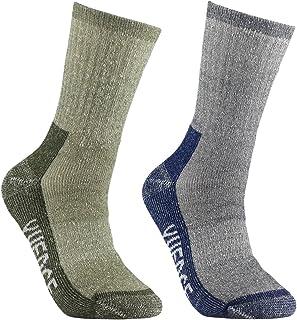 YUEDGE Cushion Merino Wool thermal Winter Sports Socks