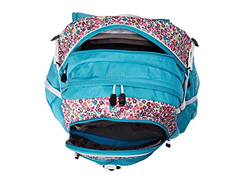 High Fat Boy Sierra Floral Prairie Teal Tropic Mochila Blanco RfRTOqw