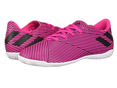 adidas Kids Nemeziz 19.4 IN Soccer (Little Kid/Big Kid) (Shock Pink/Black) Kid