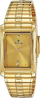 Titan Karishma Analog Gold Dial Men's Watch -NK9154YM02