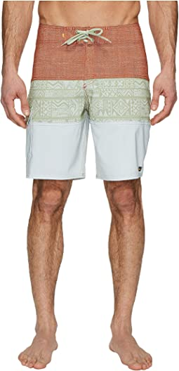 Fairway Tri Block Boardshorts