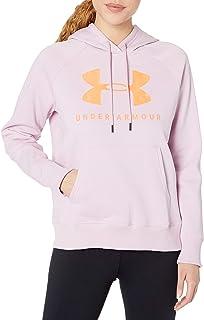 Under Armour Femmes Fitness-Capuche Sweatshirt UA Tech ™ Terry Hoodie Noir