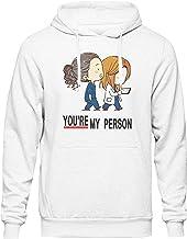You Are My Person Inspired Grey'S Anatomy Kawaii Anime Capucha