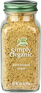 Simply Organic Nutritional Certified Yeast, 1.32 Ounce