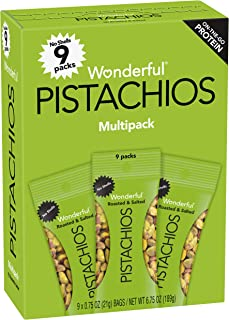 Wonderful Pistachios No Shells Roasted and Salted Nuts, 6.75 Ounce