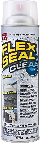 弹性密封喷涂橡胶密封胶涂层 14 Oz Clear
