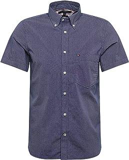 Tommy Hilfiger Men's Slim Small Dot Print Shirt S/S Sweatshirt