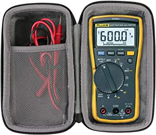 Hard Travel Case for Fluke 117 Electricians True RMS Multimeter by co2crea