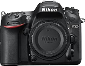 Nikon D7200 24.2 MP DX-Format Digital SLR Body with Wi-Fi and NFC (Black)(Renewed)