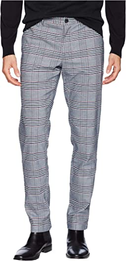 P55 Stretch Large Classic Plaid Chino Pants