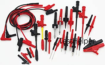 TestHelper TH-16-KIT Whole Set Multimeter Test Lead Kits Set Essential Automotive Electronic Connectors Cables Hand Tool B...