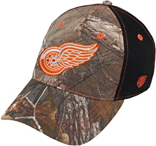 Old Time Hockey Detroit Red Wings Tobias Camo Unstructured Buckle Adjustable Hat/Cap