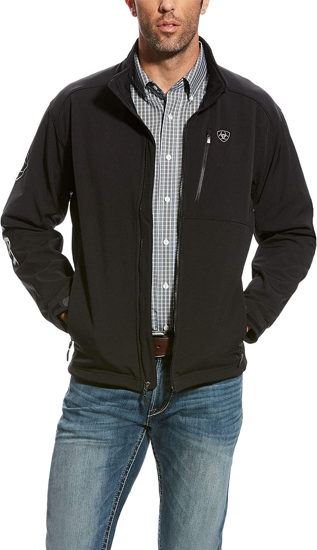 ARIAT Men's Big & Tall Logo 2.0 Softshell Jacket