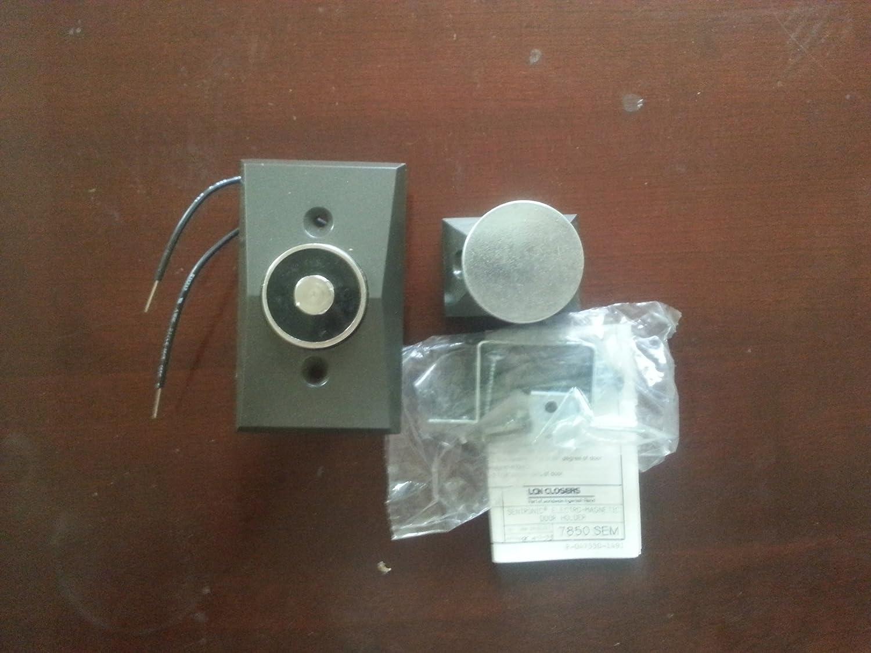 LCN SEM7850 SEM 7850-689 Aluminum Max 56% OFF Wall Magnet Recessed TRI Cheap sale Mount