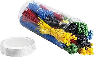 Aviditi 80 Piece Cable Tie Kit, Assorted, Case of 1000 (CTKIT15)