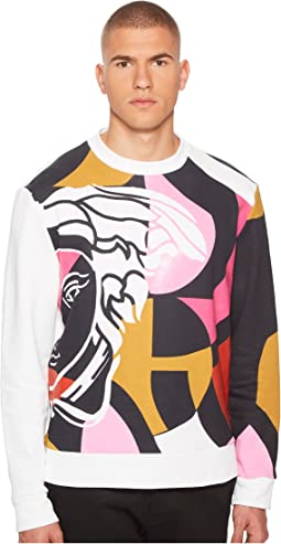 Versace Collection - Abstract Medusa Sweatshirt