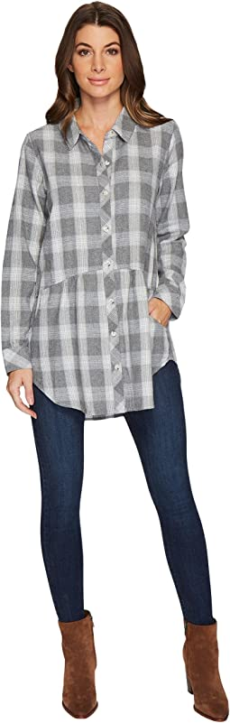 Mod-o-doc - Flannel Long Sleeve Shirt with Front Pockets
