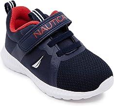 Nautica Kids Girls Fashion Sneaker Running Shoe Strap/Slip On (bebé/niño pequeño)